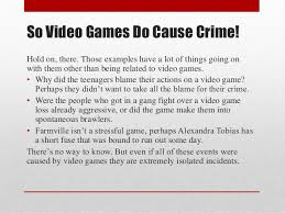 do video games cause violence  6 so video games do cause