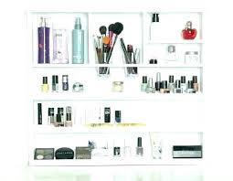 wall mounted makeup organizer wall mounted makeup organizer bathroom storage lipstick like this item white wall