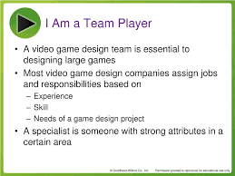 Video Game Designer Responsibilities Ppt Chapter 1 Powerpoint Presentation Free Download Id