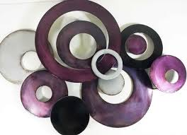 trendy inspiration ideas purple metal wall art designing decor home design uk deep e decoration and