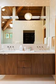 wall mounted faucets bathroom. Wall Mount Faucet Bathroom Modern With Exposed Beams Wood Ceiling Mounted Faucets