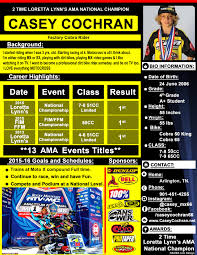 Motocross Sponsor Resume Resume For Study