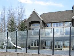 deckview glass railing pool surround