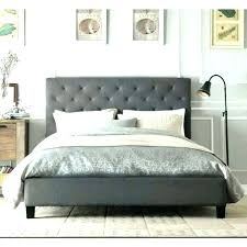 grey tufted bed – lincolnandgrant