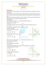 ncert solutions for class 10 maths chapter 3 exercise 3 2