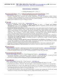 resume samples for software tester 25052017 qa resume template