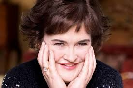 susan boyle on a wonderful world her eback al