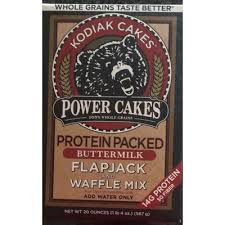 power cakes protein packed ermilk flapjack and waffle mix