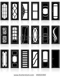 front door clipart black and white. Front Doors Clipart Door Black And White