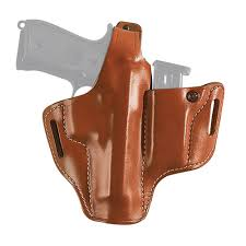 Leather Magazine Holder Gun Mesmerizing Gould Goodrich Pancake Holster With Mag Holder