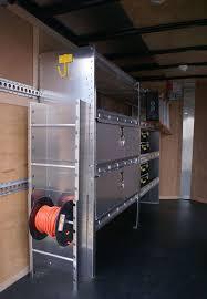 Cabinets For Cargo Trailers Enclosed Trailer Shelving Storage Ranger Design