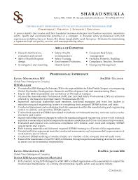 Amazing Ehs Resume Sample Pictures - Simple resume Office .