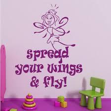 Fairy Spread Your Wings Wall Sticker. http://walliv.com/fairy-spread ...