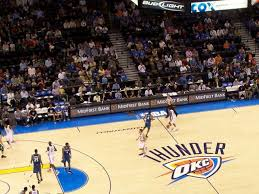 Oklahoma City Thunder Arena Seating Chart Oklahoma City Thunder Suites Thunderseatingchart