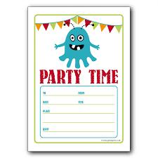 Free Printable Birthday Invitation Templates For Kids Printable Party Invitation Templates Vastuuonminun