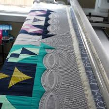 160 best Quilt Borders images on Pinterest | Knitting tutorials ... & From Kathleen quilts, love the border treatment. Quilting StencilsLongarm  QuiltingFree ... Adamdwight.com