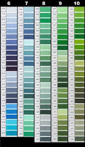 Dmc Color Chart Numerical Order 12 Methodical Dmc Tapestry Wool Colour Chart