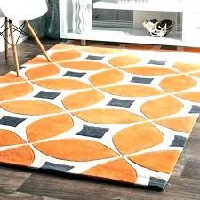 orange and grey area rug orange and gray rugs round orange rug lovely grey and orange