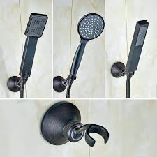 bronze handheld shower dark oil rubbed bronze shower head bronze handheld shower heads