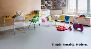 Rubber Floor Kitchen Vinyl And Rubber Sheet Flooring In Beautiful Plain Colours The
