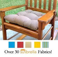 rare unique outdoor rocking chair cushions rave yellow gold porch rocker cushions latex foam fill fade
