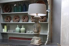Houten Balusterlamp Inclusief Lampenkap 86 Cm