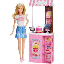 Barbie Careers Bakery Playset Walmartcom