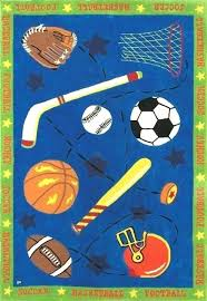 sports area rugs awesome rug for nursery canada