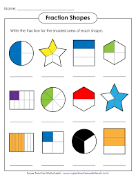 Naming Fractions Worksheets Free Worksheets Library | Download and ...