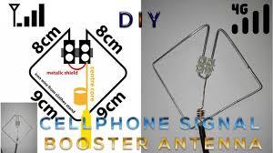 diy 2g 3g 4g cellphone signal booster antenna