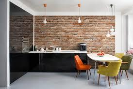 Kitchen Feature Wall Artificial Brick Accentlls Atlanta Gabrick Ideasbrick Bedroombrick