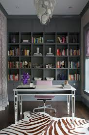 bookcases for home office. Black Ikea Billy Bookcase In Home Office With Gray Walls And Freestanding Desk Large Size Bookcases For I