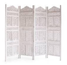 floral room divider  white  panel  originals furniture