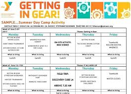 Summer Camp Daily Schedule Template Summer Camp Daily Schedule Day Template Cub Scout Form Images Of