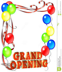 Free Grand Opening Flyer Template Grand Opening Sign Template Stock Illustration Illustration Of
