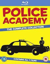 Police Academy 1-7-The Complete Collection [Blu-ray] [Import]: Amazon.de:  Steve Guttenberg, Kim Cattrall, Christopher Lee, Ron Perlman, G.W. Bailey,  Bubba Smith, Donovan Scott, George Gaynes, Andrew Rubin, David Graf, Alan  Metter, Alan Myerson,