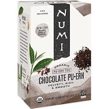 Chocolate Pu·erh | FREE 1-3 Day Delivery - Numi Organic Tea