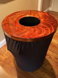 elegant trash can. Perfect Elegant Trash Can Toppers And Spandex On Elegant