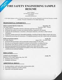 Safety Engineer Sample Resume Fire Safety Engineer Sample Resume 100 Certified Protection 1001 Ideas 2