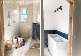 B & Q Bathrooms and Accessories Beautiful Our Master Bathroom Plan Sneak  Peek Emily Henderson