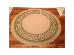 round greek key rug key pattern round heavyweight indoor outdoor rug beige green greek key rug