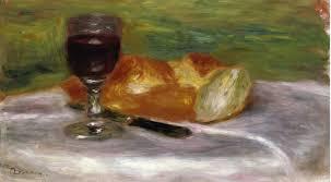 Risultati immagini per immagini di pittori sul tema del pane e del vino
