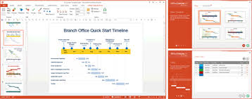 Powerpoint Office Timeline Office Timeline Make Professional Powerpoint Timelines And