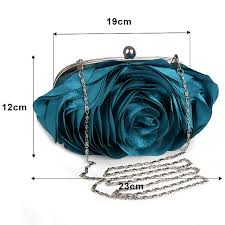 Vintage <b>Ladies Floral Evening Bag</b> Woman Fashion Rose Flower ...