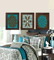 brown and turquoise bedroom. Interesting And Turquoise Wall Decor Bedroom Brown And  Teal Gallery Coral   Throughout Brown And Turquoise Bedroom N