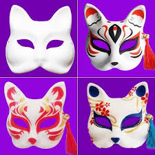 fit to viewer prev next diy paper mask cat