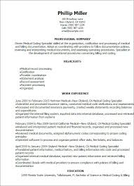 Medical Coder Resume Template New Medical Coding And Billing Resume ...