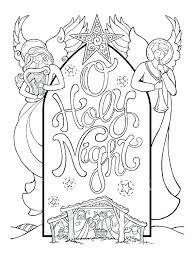 Nativity Scene Coloring Pictures Qnrfsubmission