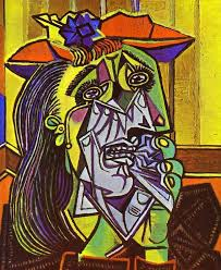 the weeping w by pablo picasso