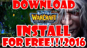 download and install warcraft iii frozen throne for free full